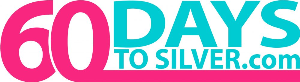 60 Days to Silver Logo pink blue DAYS at top for 60days2silver social learner-02